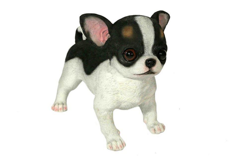 Home affaire Dekofigur »Hund stehend« in schwarz/weiß