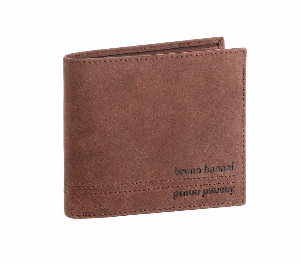 Bruno Banani Geldbörse aus Leder in braun