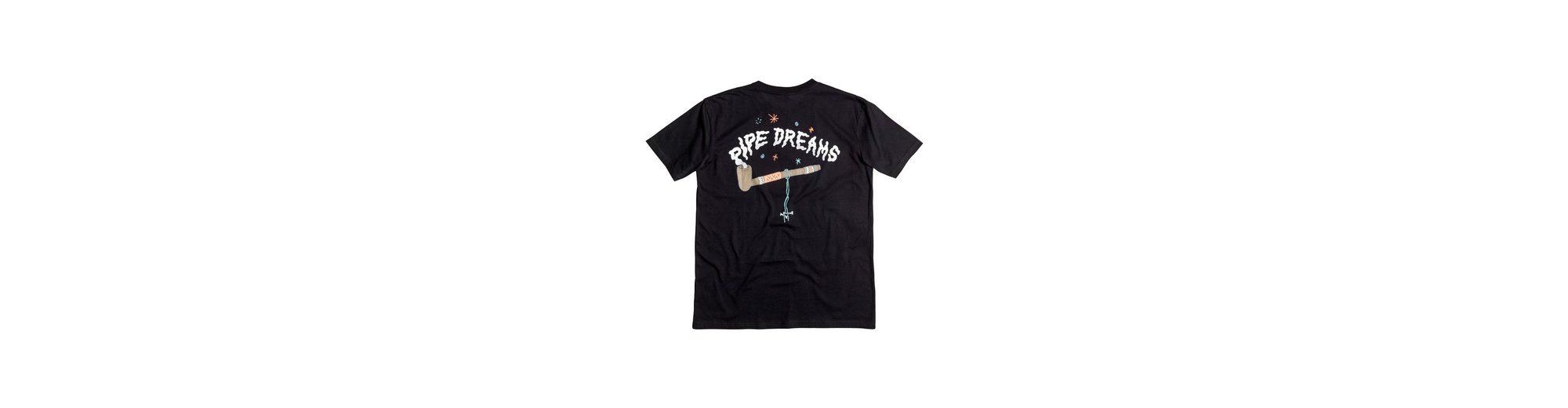 Billig Verkauf Erhalten Authentisch Perfekt Quiksilver T-Shirt AM Peace Pipe Verschleißfestigkeit i35RU0VmLy