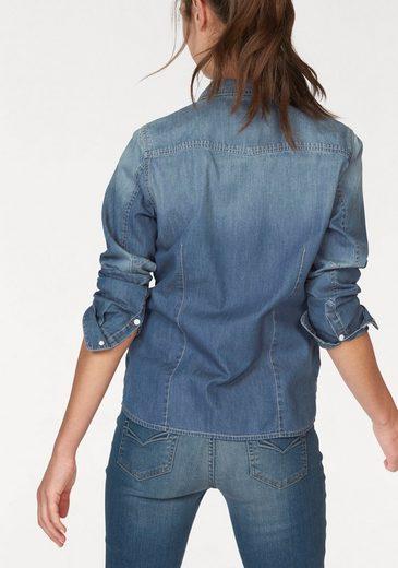 Jeansbluse, Used Effekte