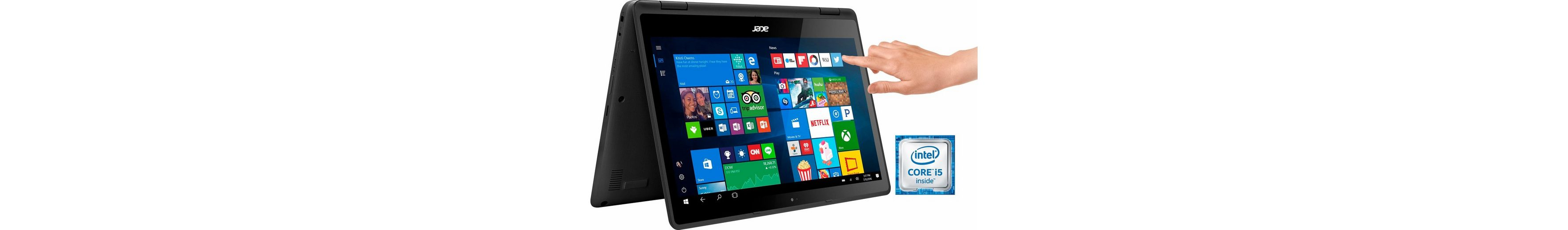 Acer SP513-51-50MN Convertible Notebook, Intel® Core™ i5, 33,8 cm (13,3 Zoll), 512 GB Speicher