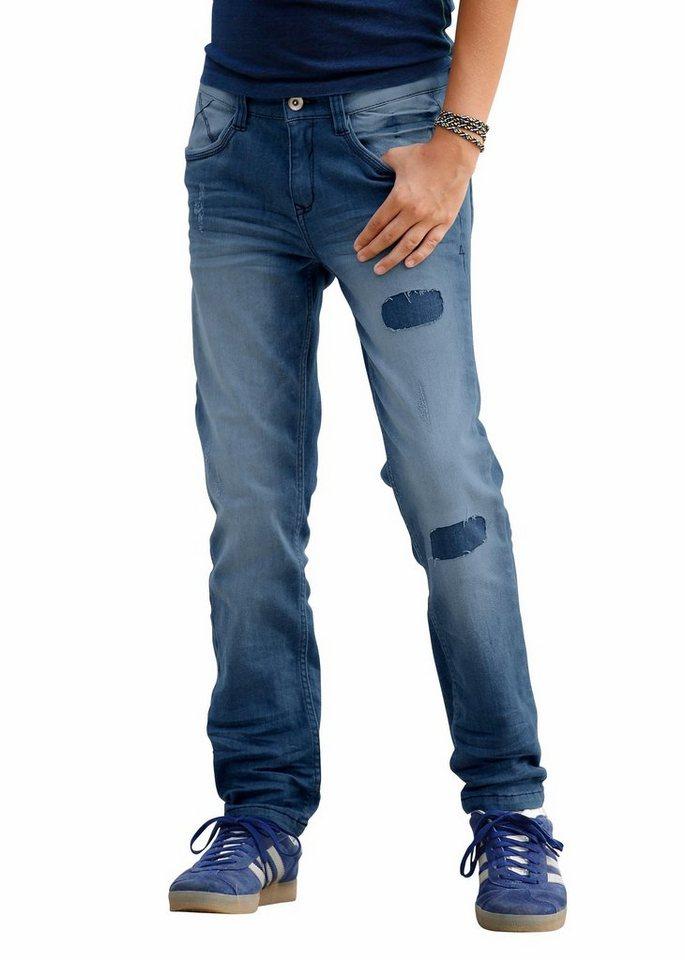 s.Oliver RED LABEL Junior Stretch-Jeans in SLIM-Passform für schlanke Jungen in blue-denim
