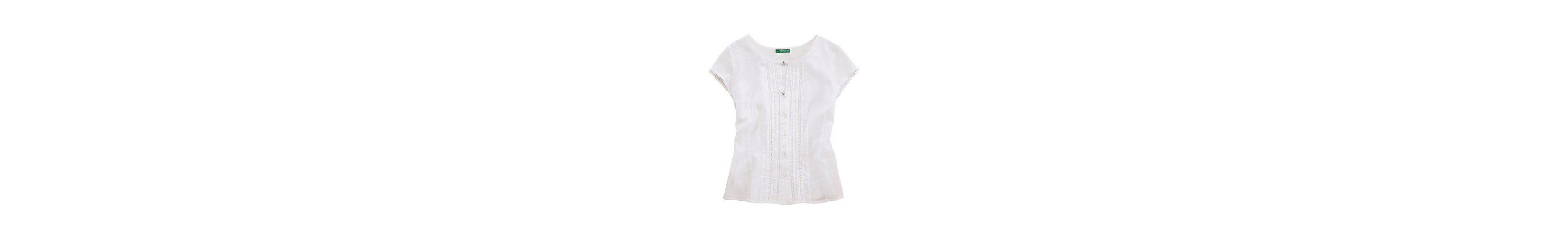 Country zarter Line Damen Trachtenshirt mit Spitze Country Line xw61HYx