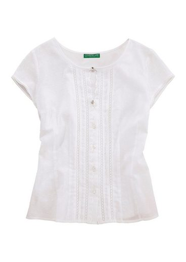 Country Line Costume Shirt Ladies With Delicate Lace