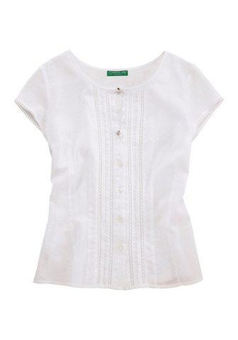 COUNTRY LINE Marškinėliai Moterims su delikatus nėr...