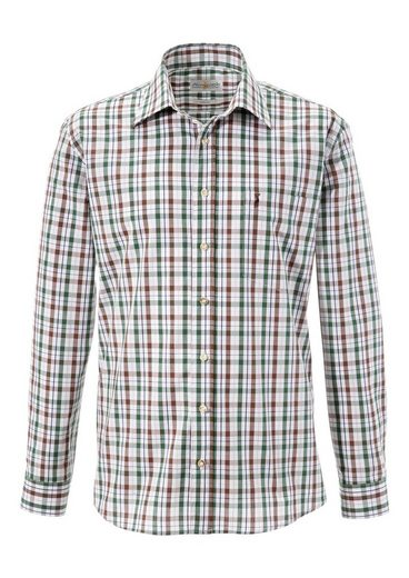 Almsach Costume Shirt In Check Design