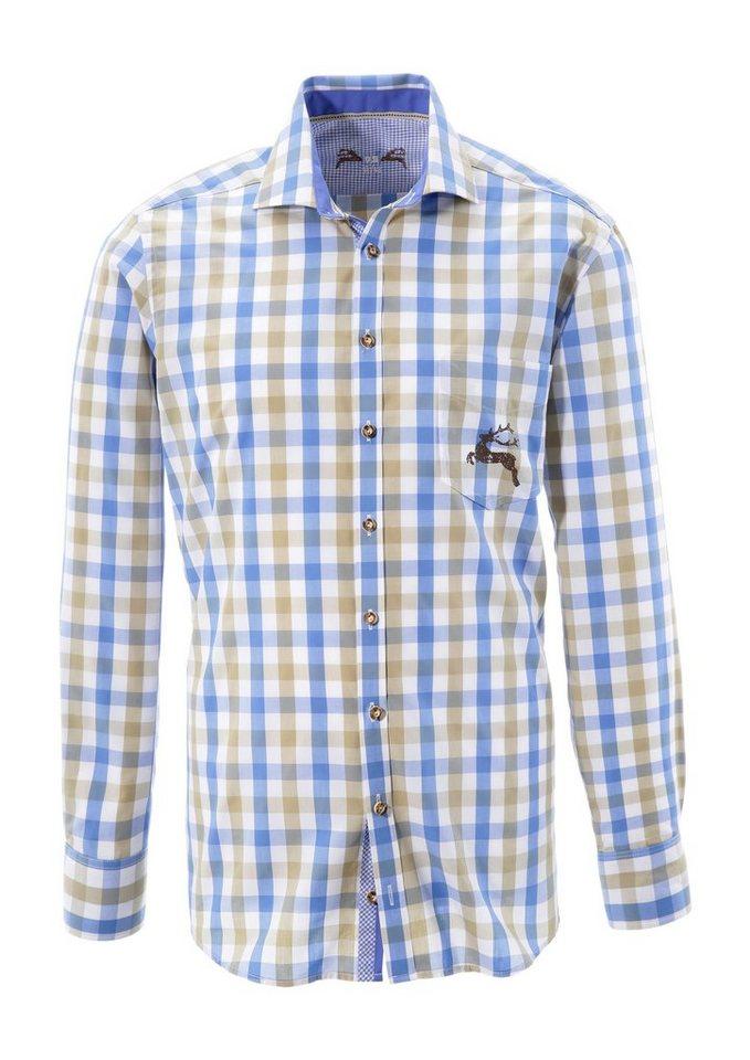 OS-Trachten Trachtenhemd mit Hirsch-Druck kaufen   OTTO e051312965