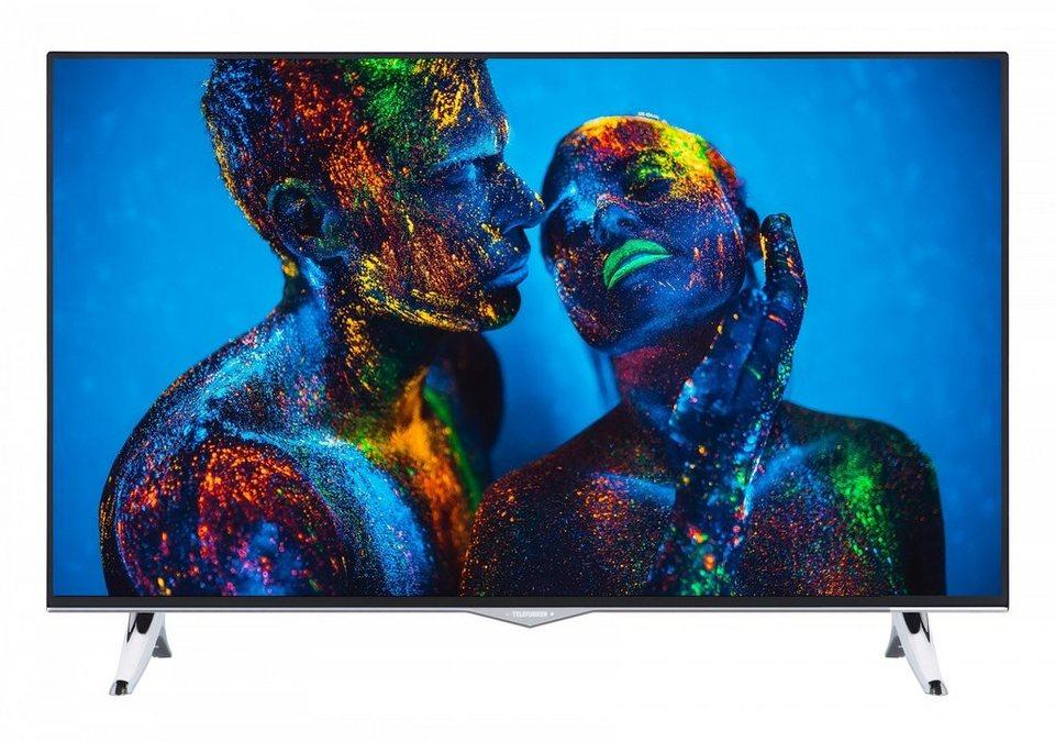 Telefunken LED-Fernseher (40 Zoll, 4K UHD, DVB-T2 HD, SmartTV) »XU40B401« in Schwarz