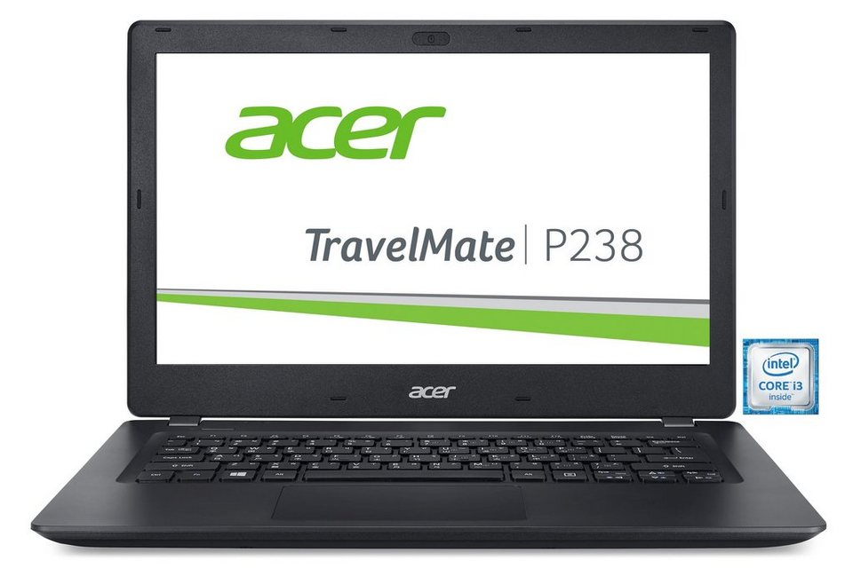 "ACER TravelMate P238-M-38HM Notebook »Intel Core i3, 33,78cm (13,3""), 128GB SSD, 8GB« in Schwarz"