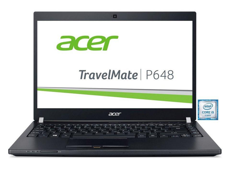 "ACER TravelMate P648-M-58J6 Notebook »Intel Core i5, 35,5cm (14""), 256GB SSD + 1TB, 8GB« in Schwarz"