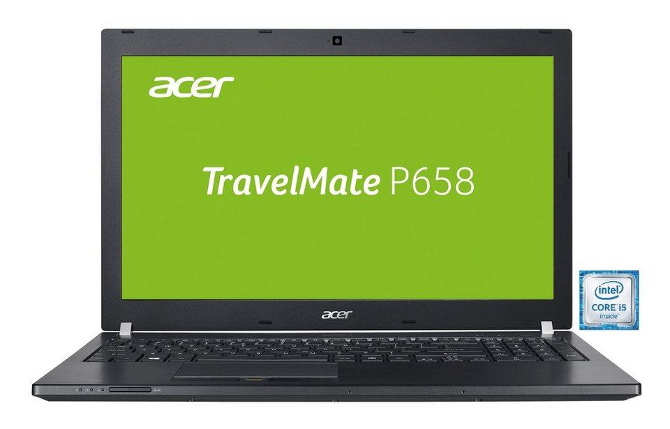 "ACER TravelMate P658-M-53JQ Notebook »Intel Core i7, 39,6cm (15,6""), 256GB+1.000GB, 8GB« in Schwarz"