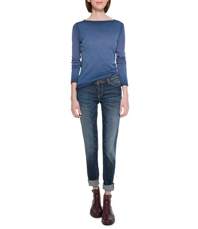 SOCCX 5-Pocket-Jeans in bunt