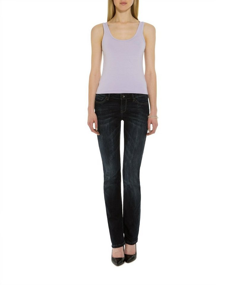 SOCCX 5-Pocket-Jeans in schwarz