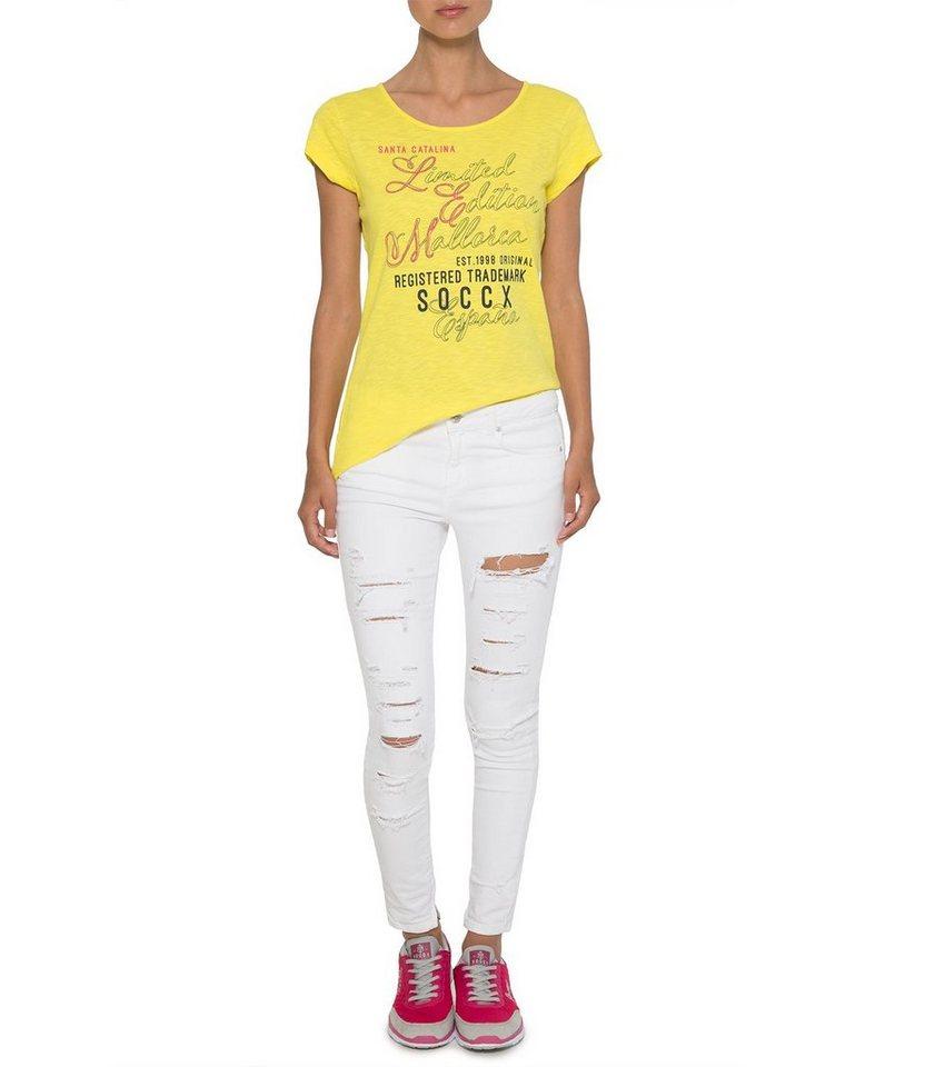 SOCCX T-Shirt in sonnengelb