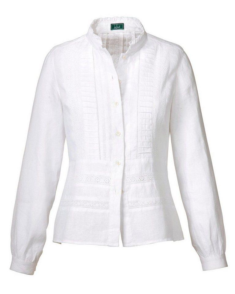 Luis Steindl Leinenbluse in Weiß