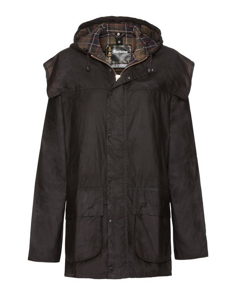 Barbour Wachsjacke Classic Durham in Oliv