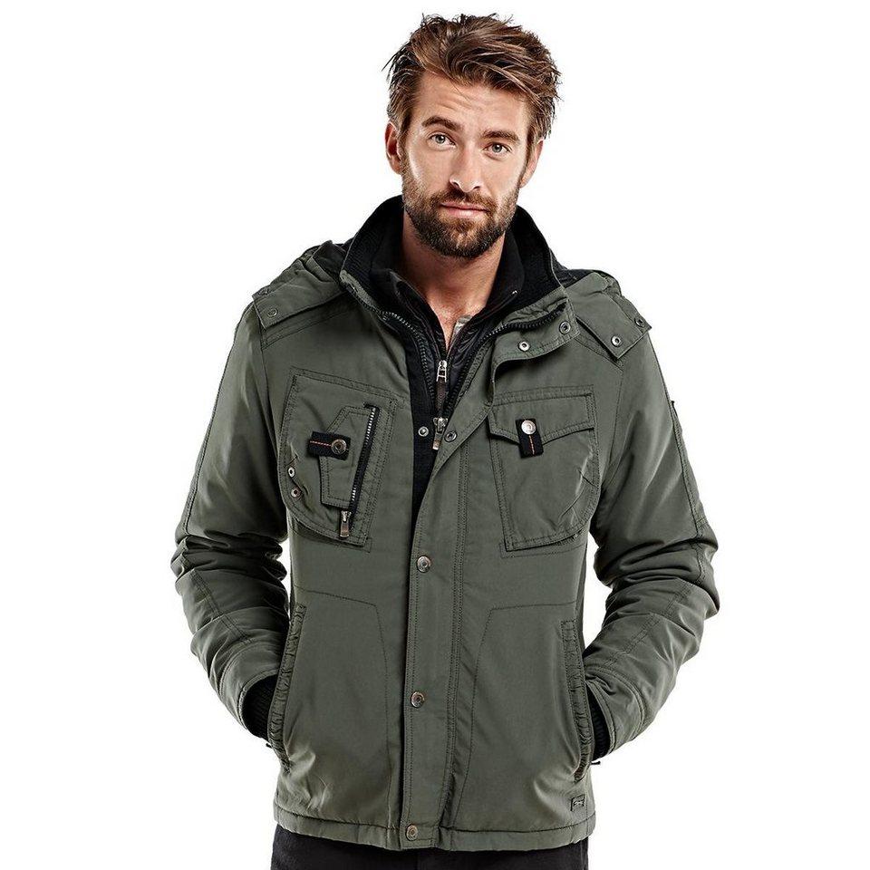 engbers Jacke in Khakigrün