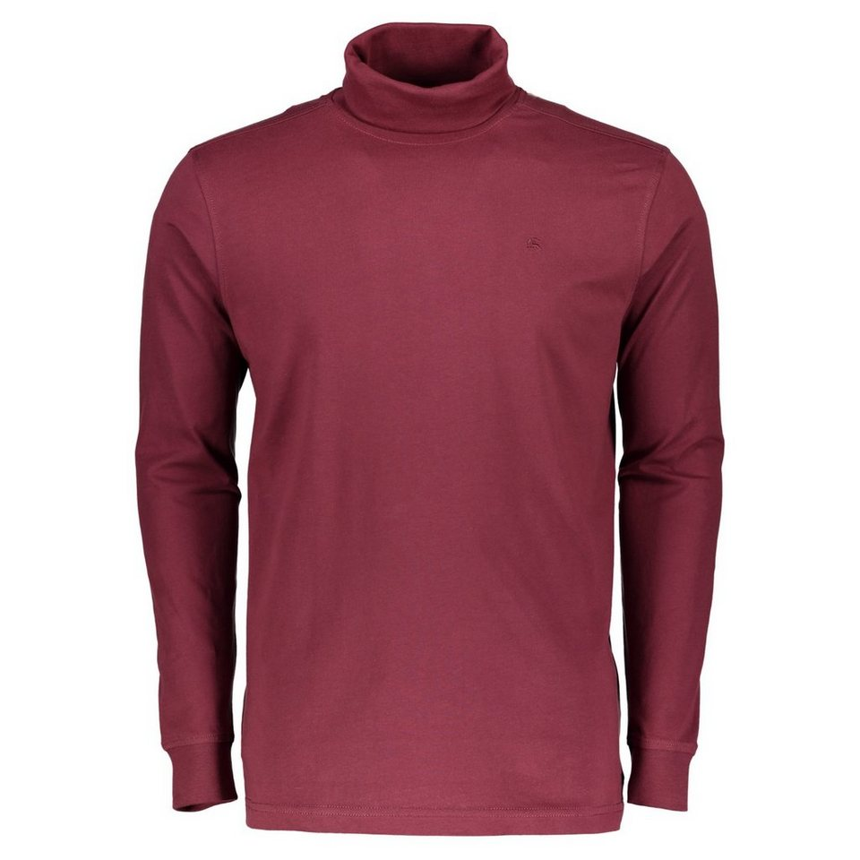 LERROS LERROS Rollkragen Shirt in RED