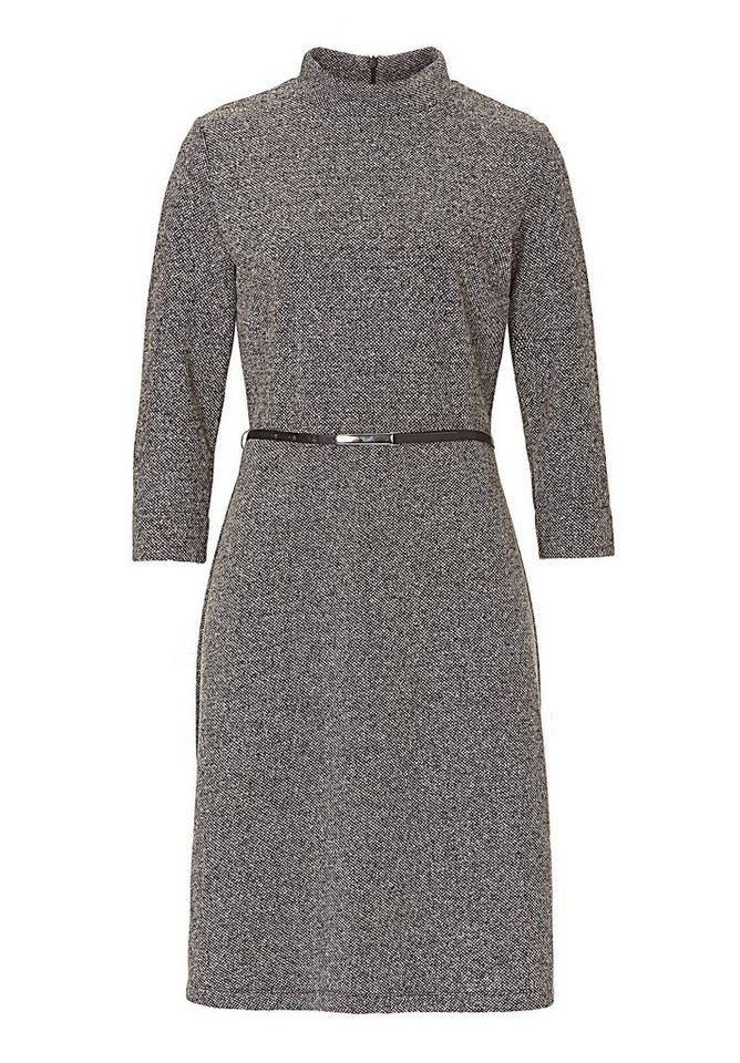 Betty Barclay Graues Kleid in Grau/Grau - Bunt
