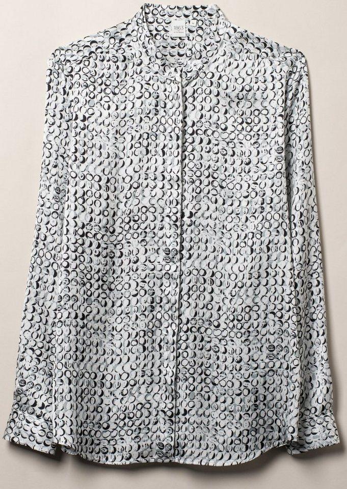 ETERNA 1/1-Arm Bluse »MODERN FIT« in grau