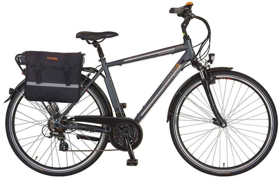 prophete he trekking e bike 36v 250 w hr motor 28 zoll. Black Bedroom Furniture Sets. Home Design Ideas