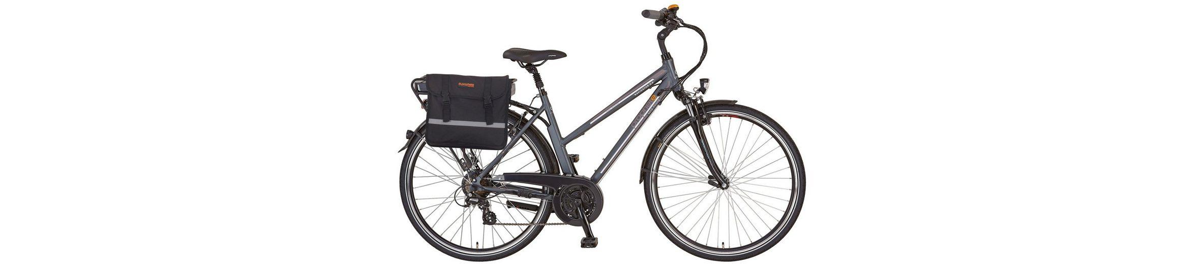 Prophete Da. Trekking E-Bike, 36V/250 W HR-Motor, 28 Zoll, 24 G. Shimano Kettensch., »Navigator 6.4«