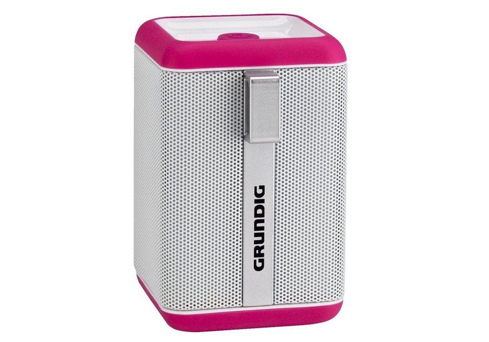 Grundig Bluetooth Lautsprecher »GSB 110« in pink/weiß