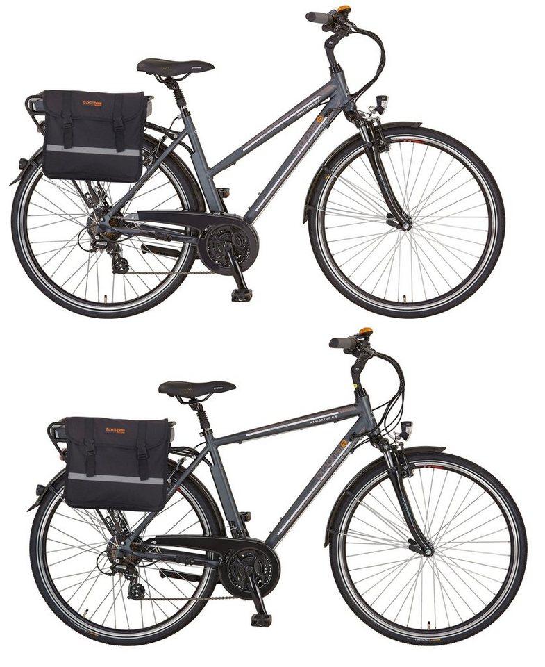 prophete sparset da he trekking e bike 36v 250w hr motor 24 gang navigator 6 4 mit. Black Bedroom Furniture Sets. Home Design Ideas