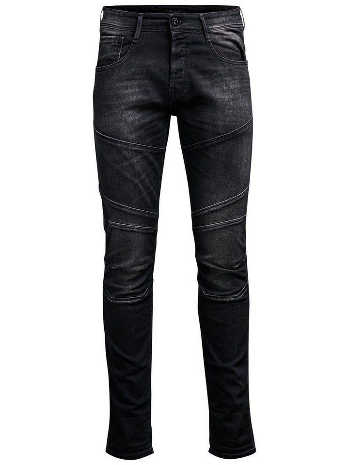 Jack & Jones Glenn Jax BL 662 Slim Fit Jeans in Black Denim