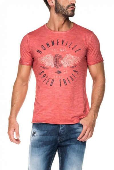 salsa jeans T-Shirt, kurzarm »PALM BEACH« Sale Angebote Schmallenberg