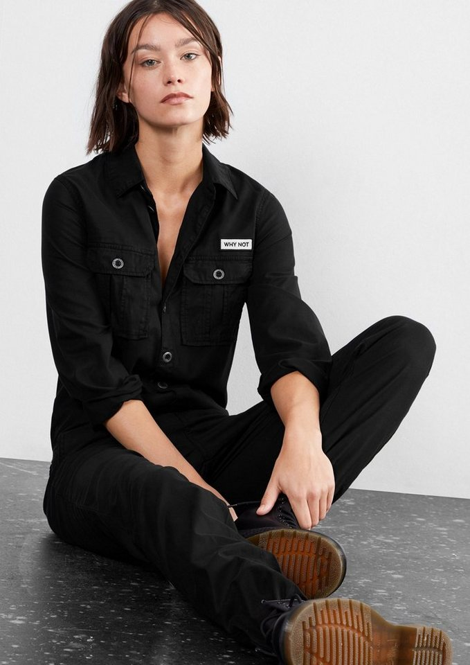 Q/S designed by Overall im Worker-Style in black