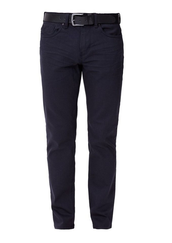 s.Oliver RED LABEL Tubx Straight: Colored Denim in blue denim stretch