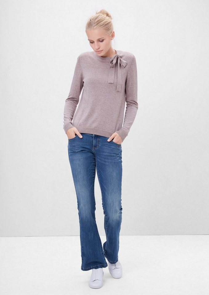 s.Oliver RED LABEL Shape Bootcut: Stretchige Jeans in blue denim stretch