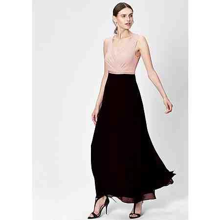 s.Oliver BLACK LABEL Cache Coeur-Kleid aus Chiffon