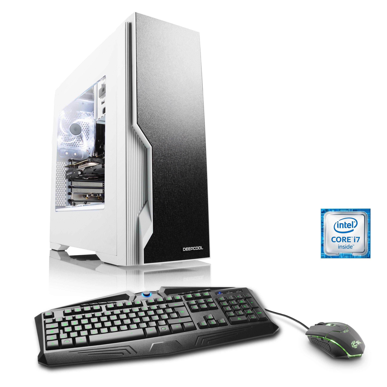 CSL Extreme Gaming PC | i7-6700K | GTX 1080 | 32GB DDR4 | 256GB SSD »Immortalis T7570 Windows 10«