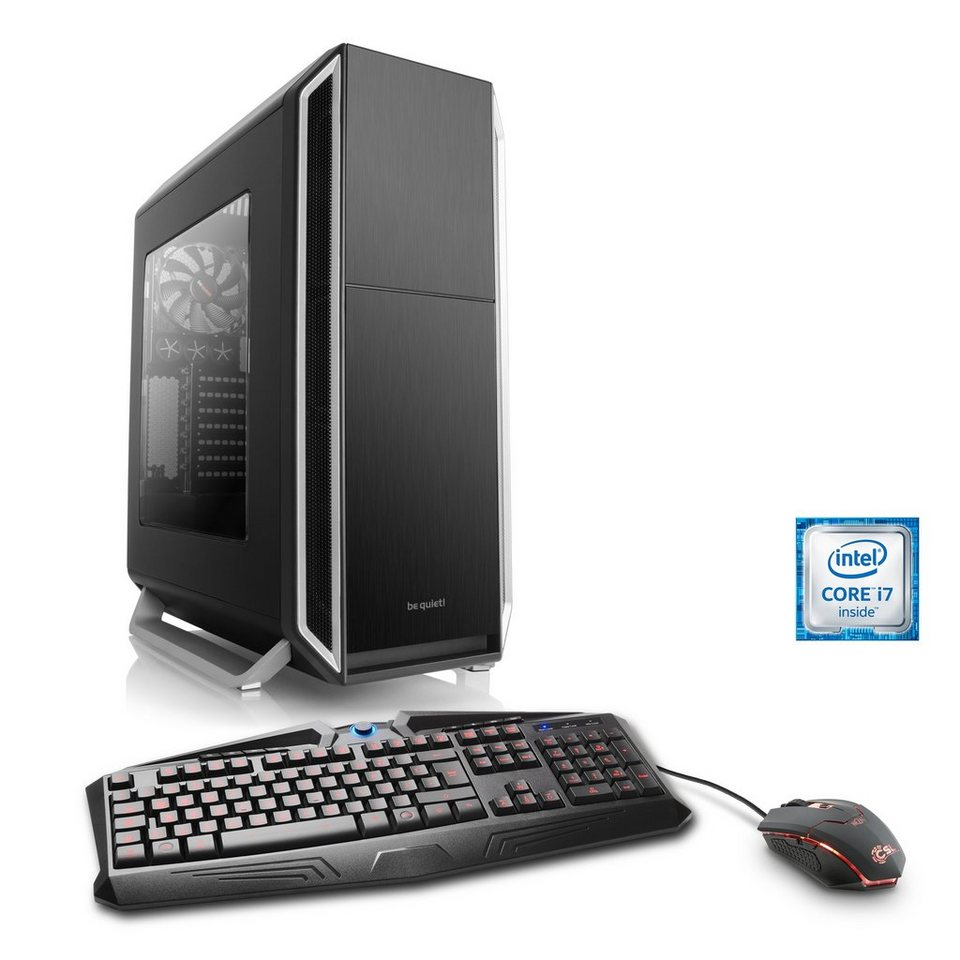 CSL Gaming PC   Core i7-6700K   GeForce GTX 1070   32GB DDR4   SSD »Immortalis T7470 Windows 10«