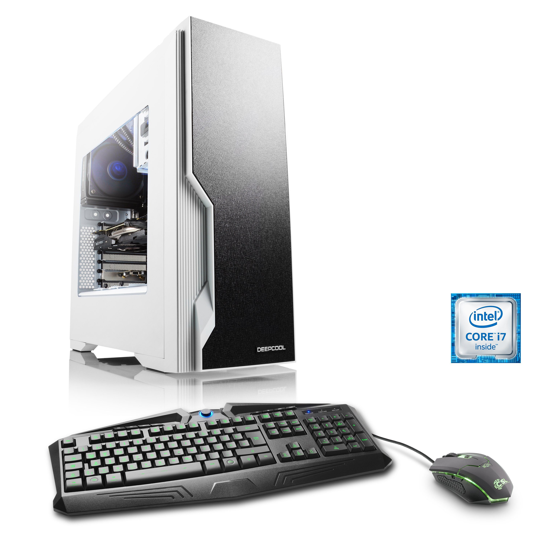 CSL Gaming PC | i7-6800K | GeForce GTX 1070 | 16GB DDR4 | 240GB SSD »HydroX T7650 Wasserkühlung«