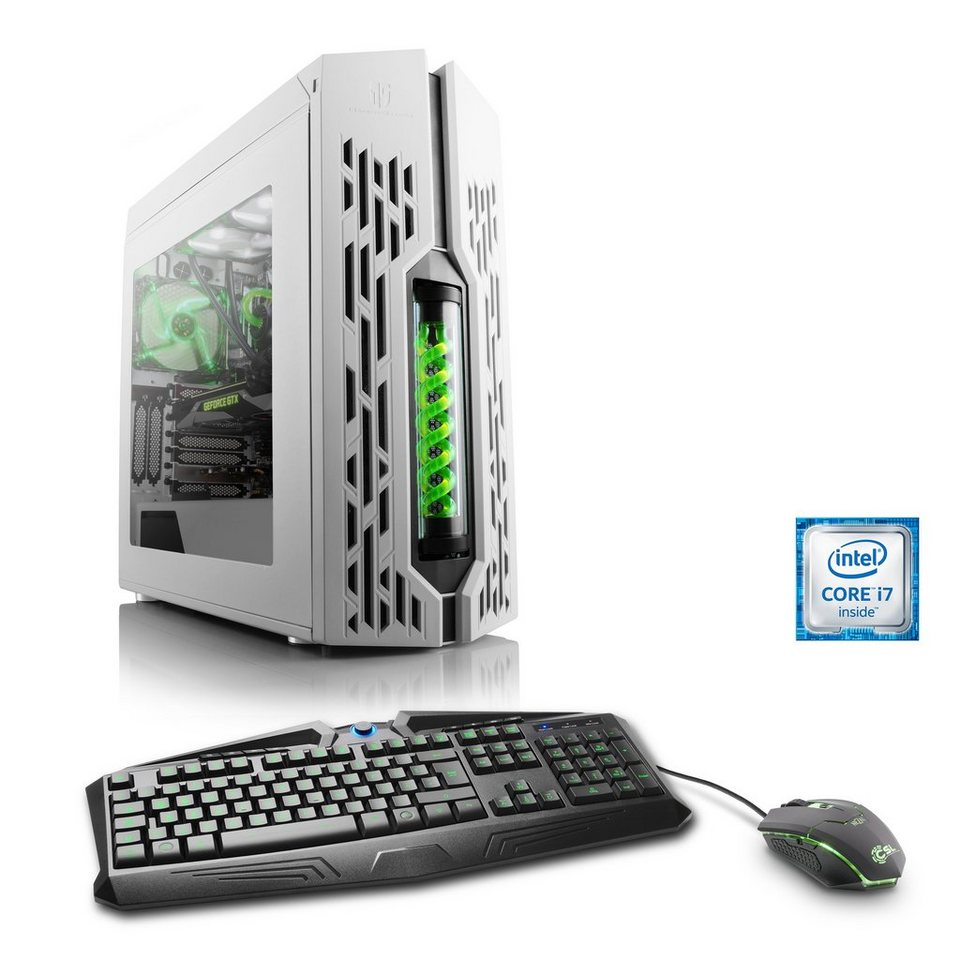 CSL Extreme Gaming PC | i7-6850K | GTX 1080 | 16GB DDR4 | 240GB SSD »HydroX T7170 Wasserkühlung«