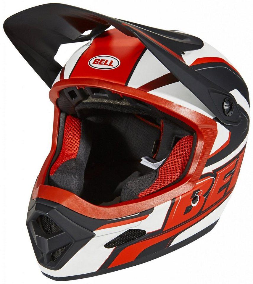 Bell Fahrradhelm »Transfer-9 Fullface Helmet« in rot