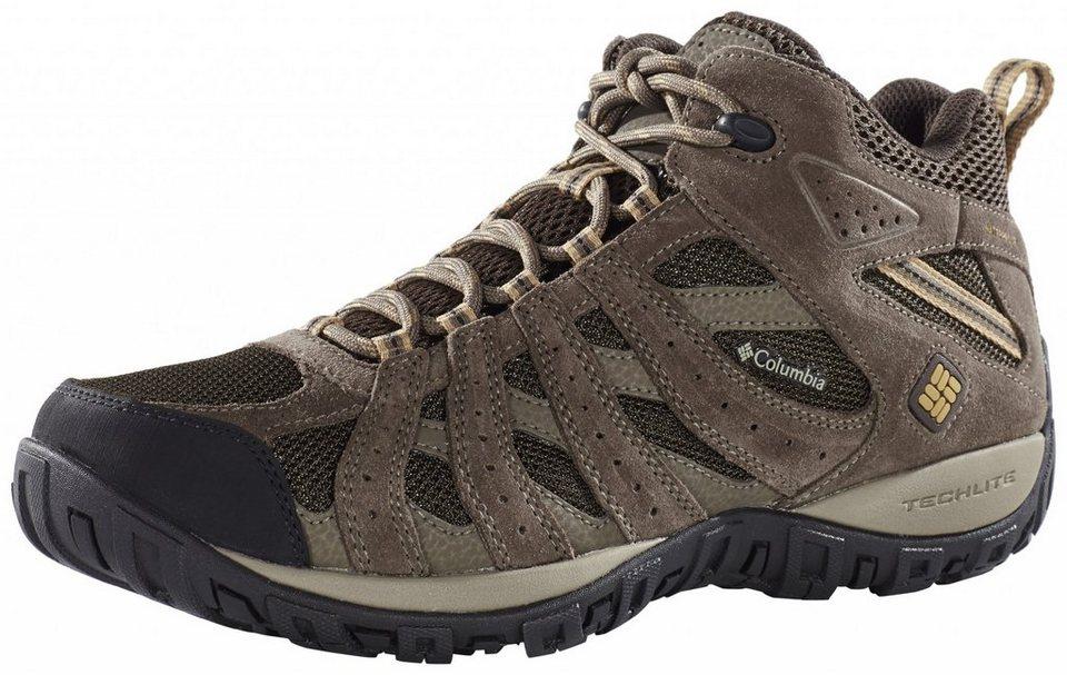 Columbia Kletterschuh »Redmond Shoes Men Mid WP« in braun