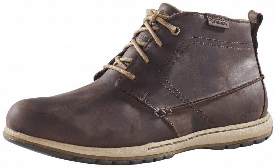 Columbia Kletterschuh »Davenport Chukka Shoes Men WP Leather« in braun