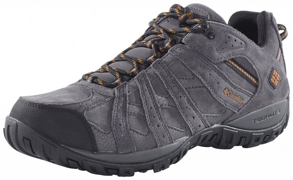 Columbia Kletterschuh »Redmond Leather Shoes Men Omni-TECH« in grau
