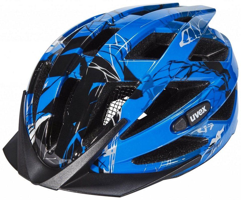 UVEX Fahrradhelm »i-vo c Helm« in blau