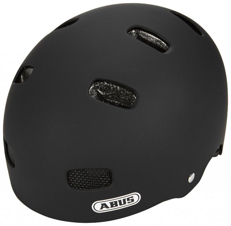 ABUS Fahrradhelm »Scraper Kid v.2 Helm« in schwarz