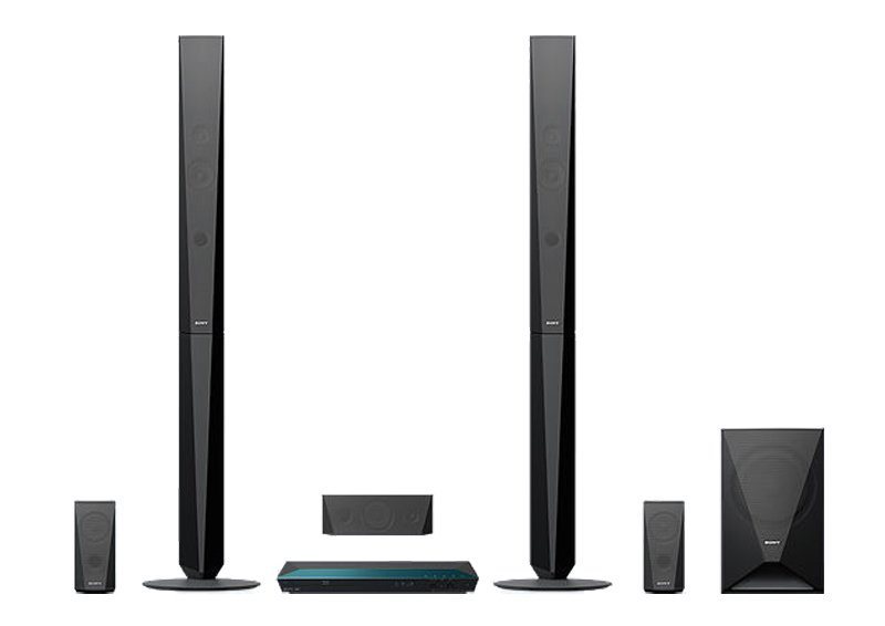 Sony Blu-Ray Home Entertainment-System mit Bluetooth »BDV-E4100« in schwarz