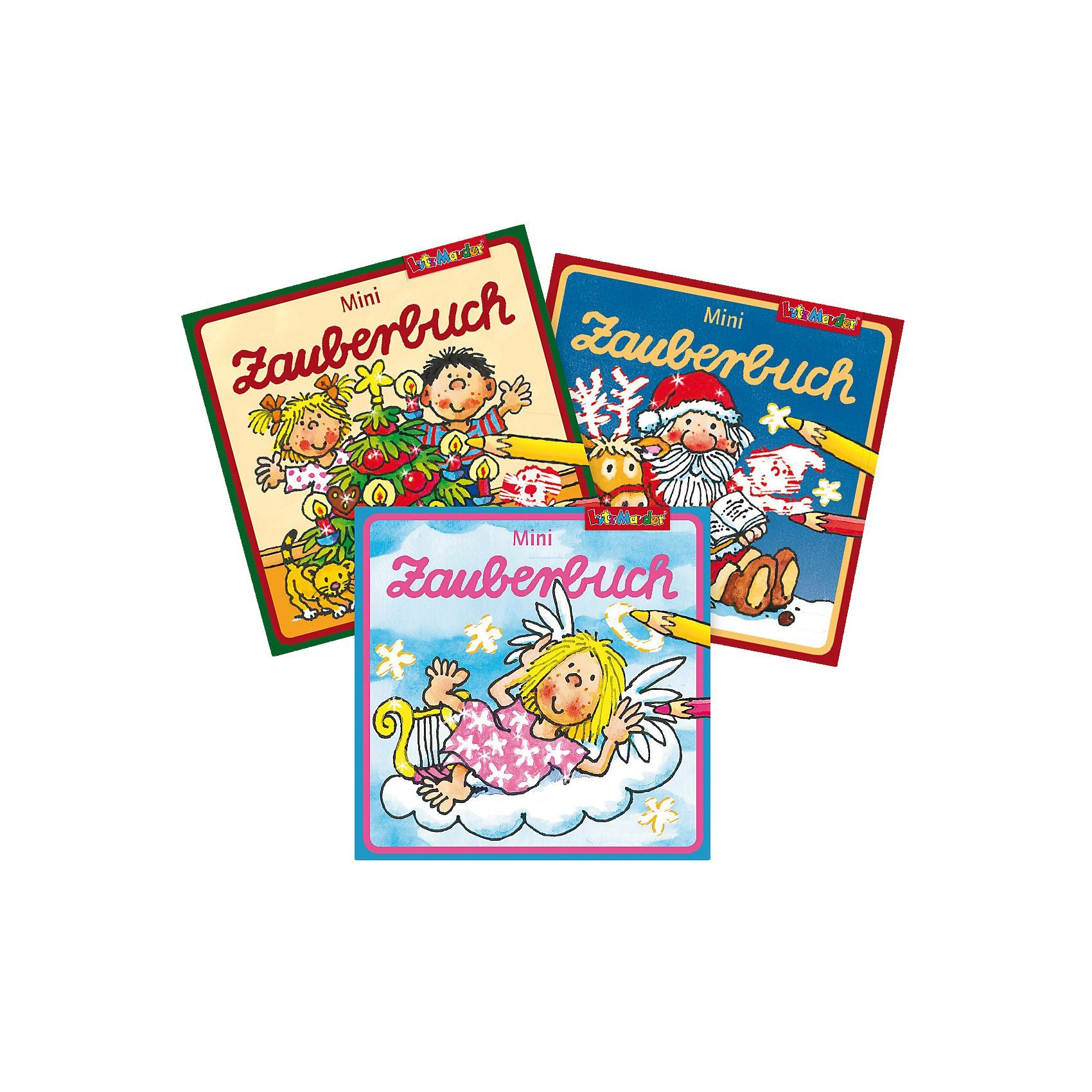 Lutz Mauder Verlag Mini-Zauberbuch, 3er Set