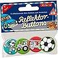 Lutz Mauder Verlag Mini-Reflektor-Button-Set Jungen 2, 4-tlg., Bild 3