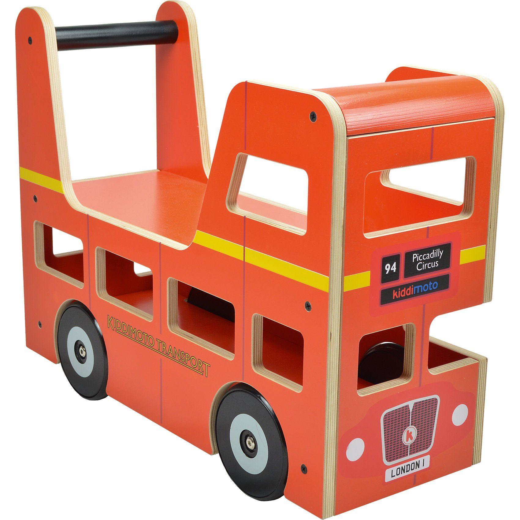 kiddimoto Lauflernbus Original London Bus