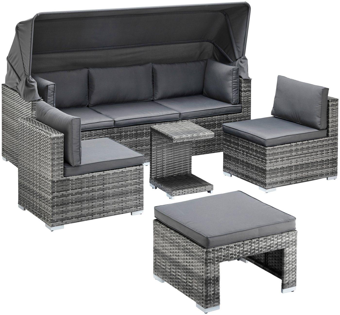 25 sparen loungebett atlanta nur 599 99 cherry. Black Bedroom Furniture Sets. Home Design Ideas