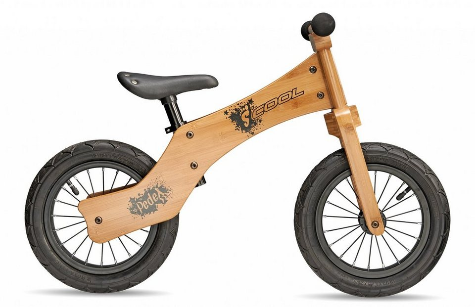 S'COOL Kinderfahrzeug »pedeX wood one« in beige